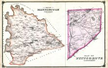 Mannington Township, Pittsgrove Township, Salem and Gloucester Counties 1876